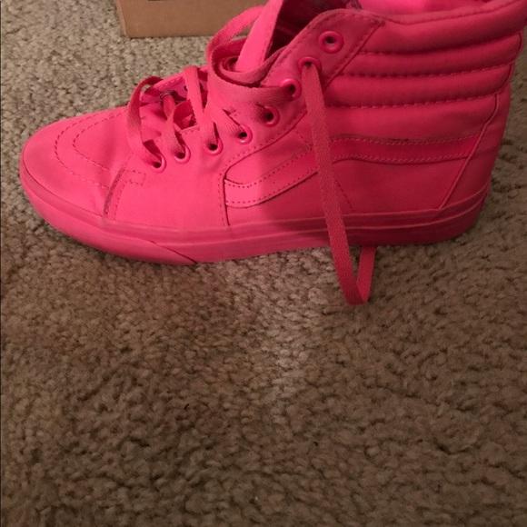 2a74e48c1f Vans Shoes - Hot pink vans